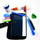 Front Glass Screen+Repair Tools Glue Set for Samsung Galaxy S3 i9300 i9305~Blue 03672-MSTSi9300nL-TG