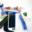 Front Glass Screen+Repair Tools Glue Set for Samsung Galaxy S3 mini i8190~White 03681-MSTSi8190nW-TG