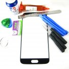 Front Glass Screen+Repair Tools Glue Set for Samsung Galaxy S6 SM-G920~Black 04201-MSTSG920nnB-TG