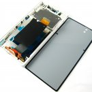 Full LCD Display+Back Battery Cover+Frame For Sony Xperia Z C6602~White 03595-MECLLT36innnW