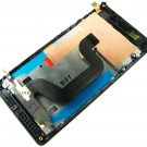 Full LCD Display+Touch Screen+Frame FOR Sony Xperia E3 D2243 D2003~Black 03621-MELFXperiaE3FnB