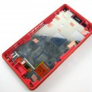 Full LCD Display+Touch Screen+Frame FOR Sony Xperia Z3 Compact D5803 D5833~Red 04309-MELFXperZ3CFnnR