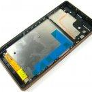 Full LCD Display+Touch Screen+Frame FOR Sony Xperia Z3 D6643 L55T L55U~Gold 03840-MELFXperiaZ3FnN