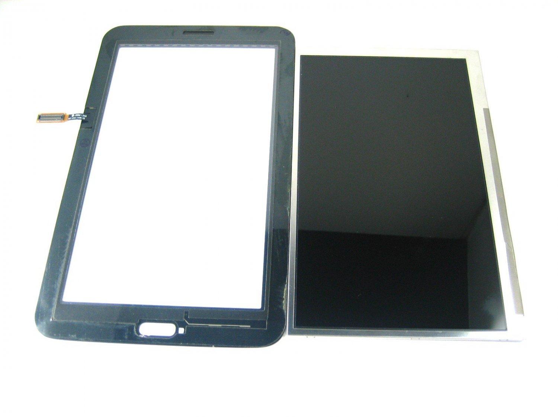 LCD Display+Touch Screen For Samsung Galaxy Tab 3 Lite 7.0 SM-T110 wifi~Black 04214-MSLTT110nnnnnB