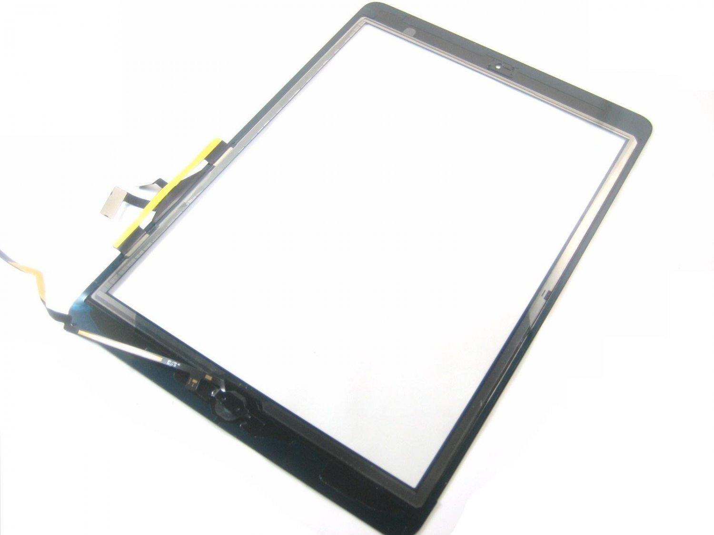 Touch Screen Digitizer+Home Button Flex Cable for iPad 5 / Air 1~Black 05597-MATSiPad5FCnnB