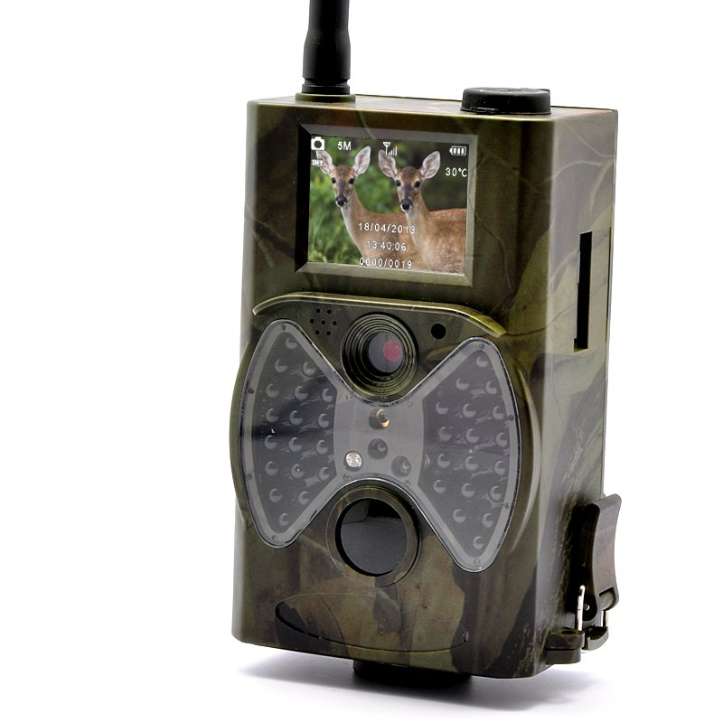 "Game Hunting Camera ""Wildview"" - 1080p HD, PIR Motion Detection, Night Vision, GPRS/GSM"