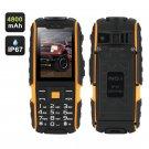NO.1 A9 GSM Phone – 4800mAh Battery, 2.4 Inch 240x320, IP67 Waterproof, FM Radio, Flashlight