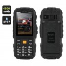 NO.1 A9 GSM Phone – 4800mAh Battery, 2.4 Inch 240x320, IP67 Waterproof, FM Radio, Flashlight