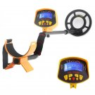 Metal Detector 'Treasure Hunter' - 8.2 Inch Water Resistant Coil. LCD Display, Detects All Metals