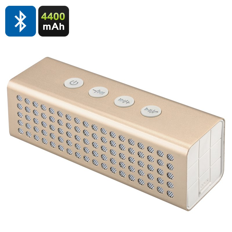 20W Bluetooth Speaker + Power Bank - Bluetooth 2.1+EDR, Micro SD Card Slot, Aux In, Hands Free