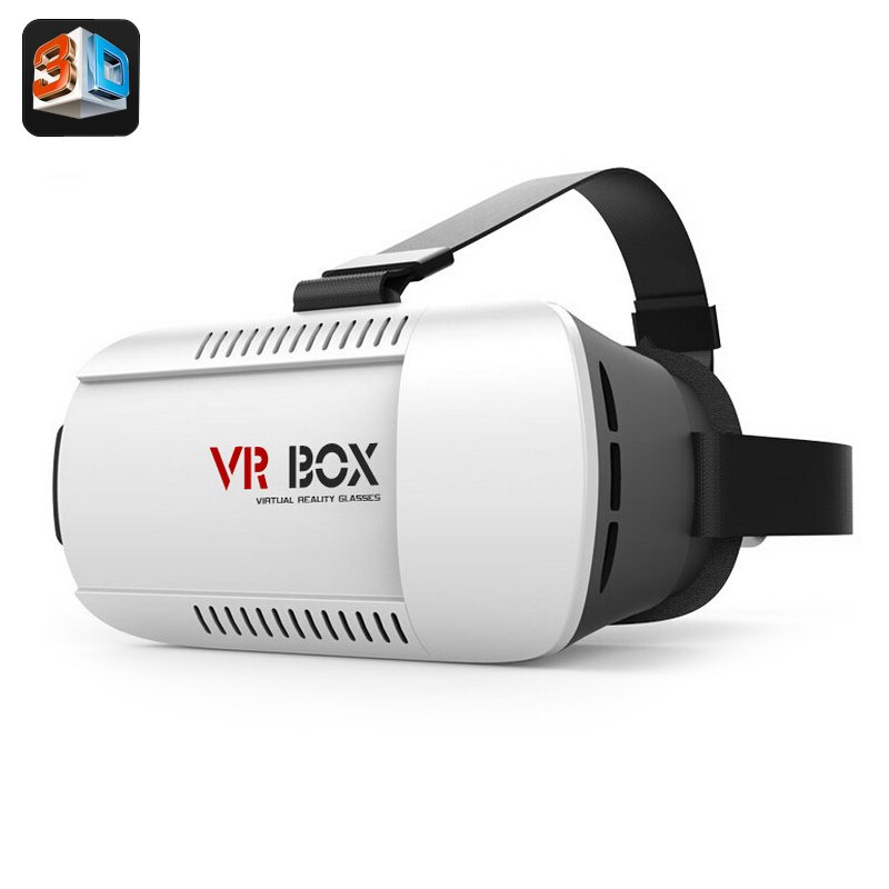 vr box 3d video glasses 4 7 to 6 inch ios and android smartphone adjustable distance focus. Black Bedroom Furniture Sets. Home Design Ideas