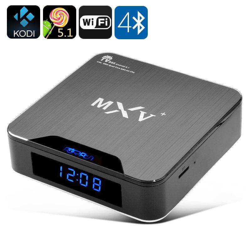Android 5.1 TV Box - Wi-Fi, Bluetooth 4.0, H.265 Decoding, HDMI 2.0, KODI Support