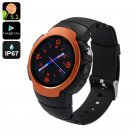 "Android Phone Watch ""Z9"" - Android 5.1, IP67, GSM + 3G, 5MP Camera, GPS, Heart Rate Monitor"