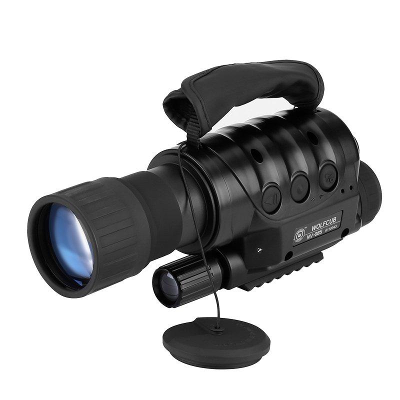 Rongland NV-650D+ Night Vision Monocular - Built-in Camera, 6x Zoom, 720M Range, 1.3MP CCD Sensor
