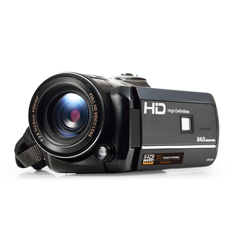 Ordro Full-HD Digital Video Camera - 1080p, 1/3 Inch CMOS Sensor, 18x Zoom, Wi-Fi, Night Vision