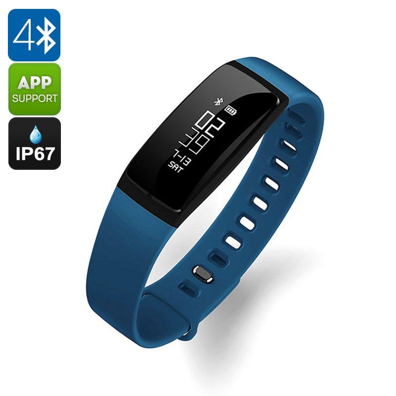Ordro S11 Smart Sports Wristband - 0.87 Inch OLED, BT 4.0, Waterproof, Pedometer, Heart Rate Sensor