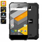 NOMU S10 Rugged Android Phone - 6.0, IP68, Quad-Core CPU, 5 Inch IPS Display,4G, Dual-IMEI