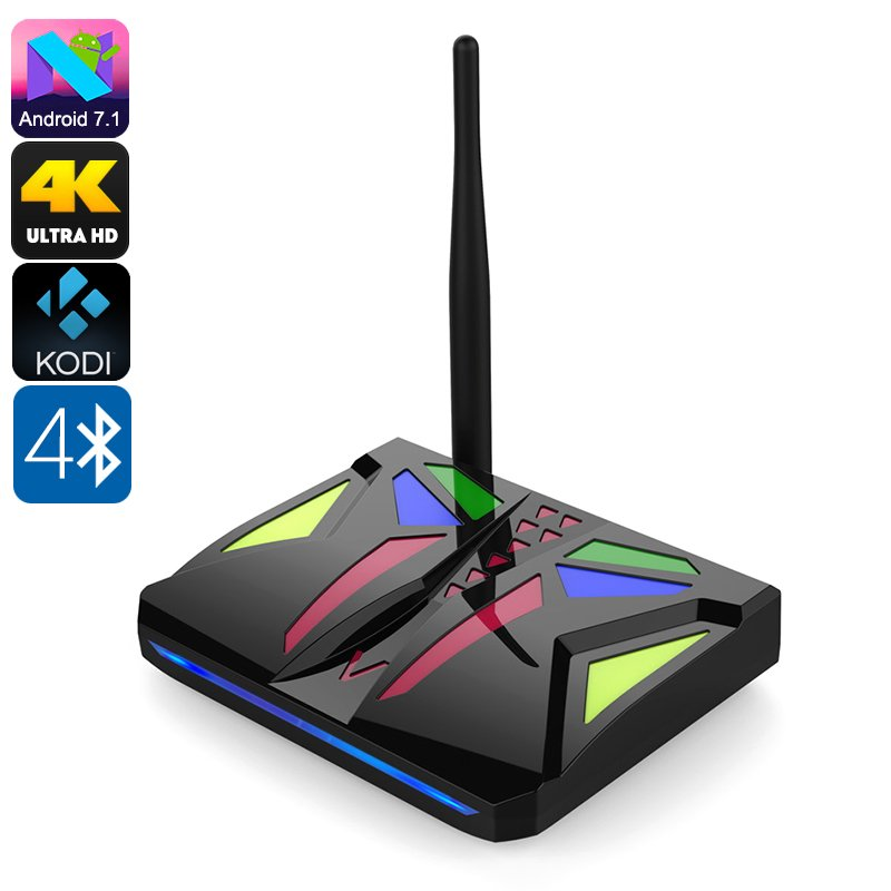 Android TV Box M92S, Octa-Core, 2GB RAM, 4K, Dual-Band WiFi, Miracast, Google Play, Kodi V17.1