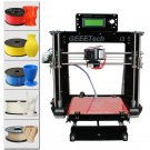 Geeetech Acrylic I3 Pro B DIY 3D Printer Supports 5 Filaments, Large Printing Volume, High Precision