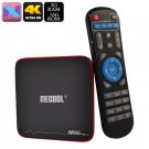 4K Android 7.1 TV Box - Quad-Core, 2GB RAM, 4K Support, WiFi, DLNA, Miracast, Airplay, Kodi