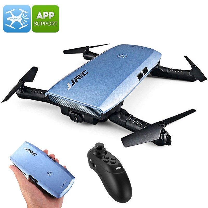 JJRC H47 ELFIE+ Foldable Drone - 720p Camera, 6 Axis, App Support, Flight Planning, Headless Mode