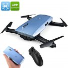 JJRC H47 ELFIE+ Foldable Drone - 720p Camera, 6 Axis, App Support, Flight Planning, Headless Mode