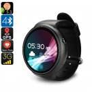 IQI I4 Pro Android 5.1 Watch Phone Bluetooth 4, WiFi, GPS, 3G, Pedometer, Heart Rate M, Quad-Core