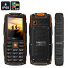 VKWorld New Stone V3 GSM Cell Phone - 3 SIM Slots, IP68, Bluetooth, Flashlight, FM Radio, 3000mAh