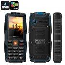 VKWorld New Stone V3 GSM Cell Phone - 3 SIM Slots, IP68, Bluetooth, Flashlight, FM Radio, 3000mAh