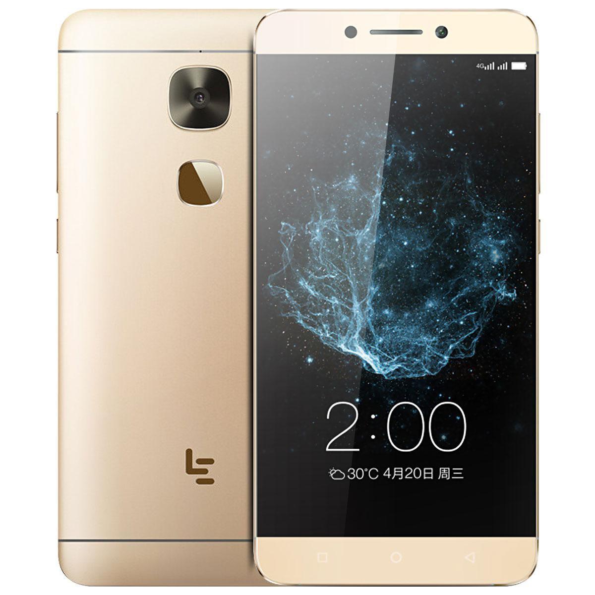 LeTV LeEco 4G Android 6 phone - 5.5 Inch FHD, Fingerpring Sensor, Octa-Core, 3GB RAM, Dual-Band Wifi