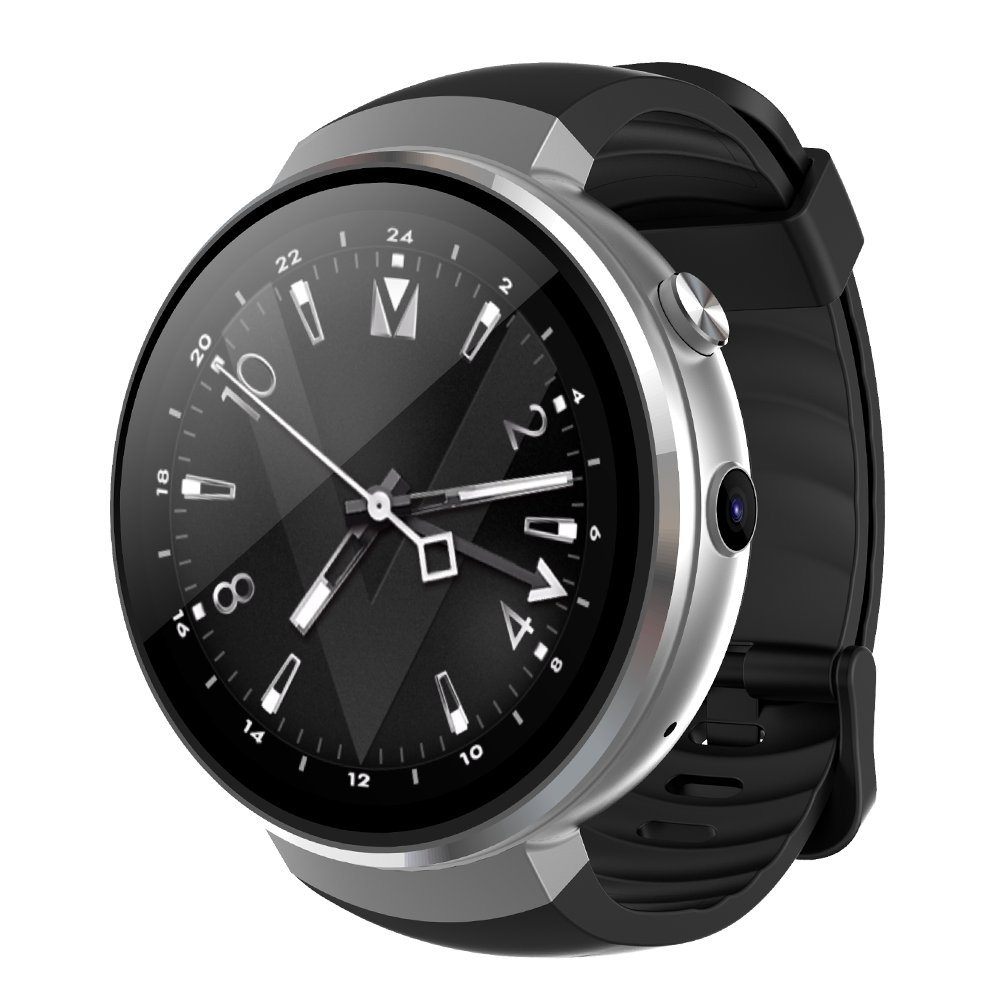 M7 Android Smart Watch - 4G, 1.39 Inch Touch Screen, Pedometer, Heartrate Sensor, 2MP Camera