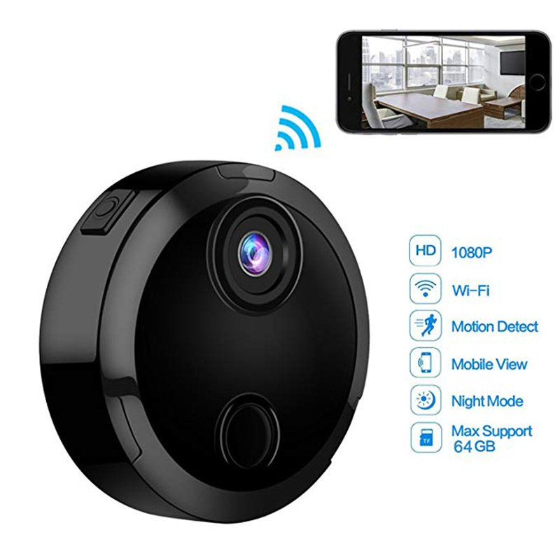 Mini Wifi IP Camera HD 1080P Infrared Night Vision Micro Network Camcorder