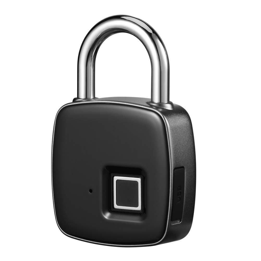 IP65 Waterproof Anti-theft Fingerprint ID Smart Padlock