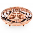 "Gold Mini Quadcopter Drone - ""Force1 Scoot"" Hands Free Hover Drone"