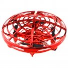 """Red Mini Quadcopter Drone - """"Force1 Scoot"""" Hands Free Hover Drone"""