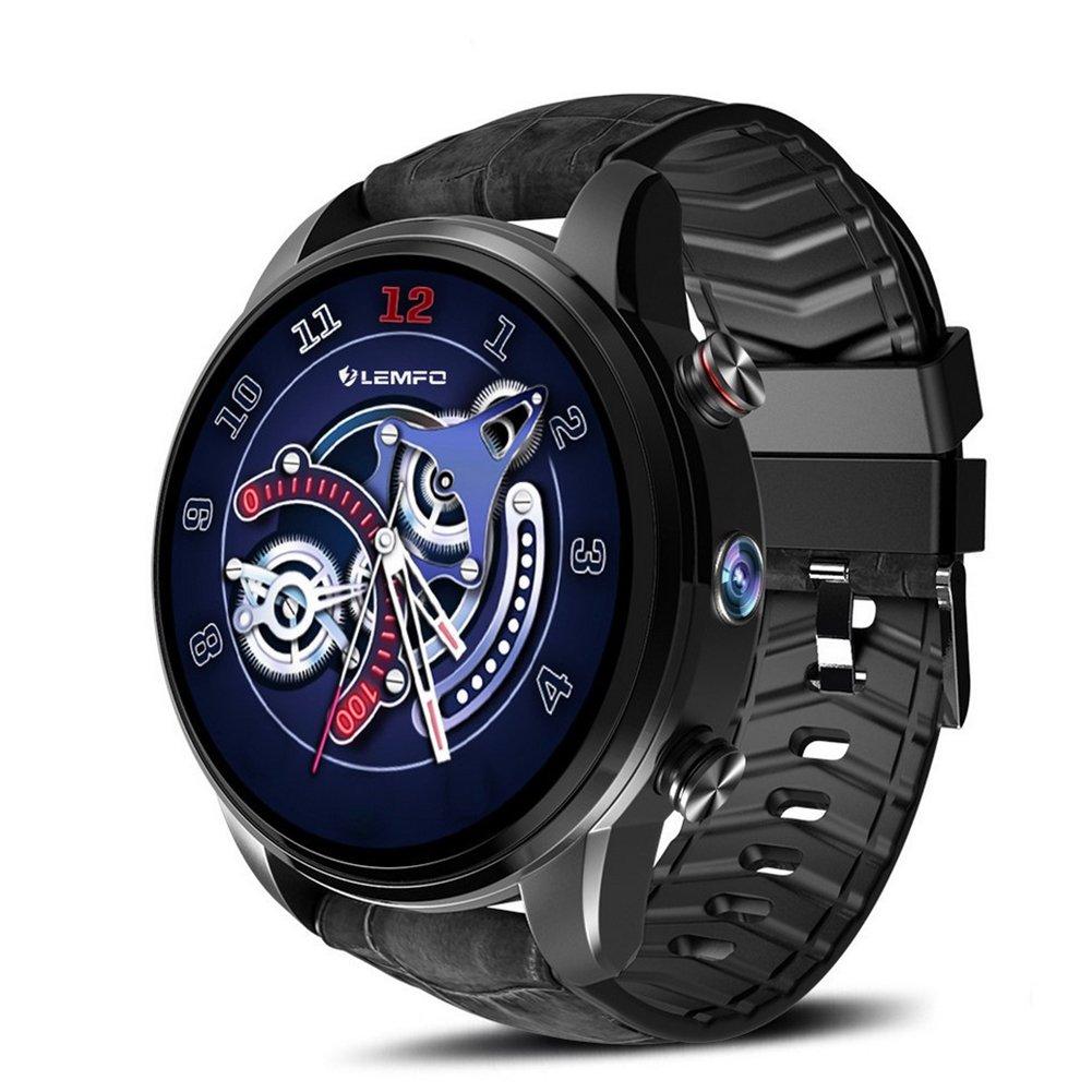LEMFO LEF3 Smart Watch Stylish Business GPS Waterproof Hd Pixel Color Screen 4G Android Smartwatch