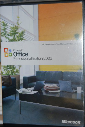 Microsoft Office Professional Edition 2003 by Microsoft Software Platform: Windows XP
