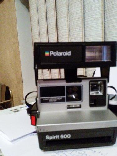 Vintage Polaroid Spirit 600 Camera. NO FILM. Camera only.