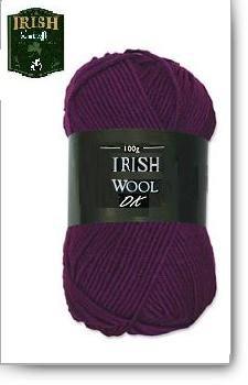 Irish Purple DK Yarn