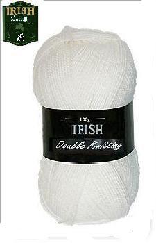 Winter White DK Acrylic Yarn