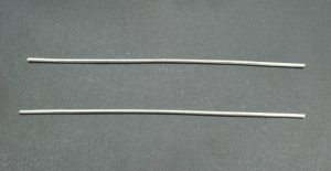 "6"" 10 Gauge 9999 Pure Silver Wire"