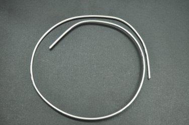 """14 Gauge 9999 Silver Wire 24"""" Piece"""