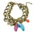 P8222 - Multi Color Charm Bracelet