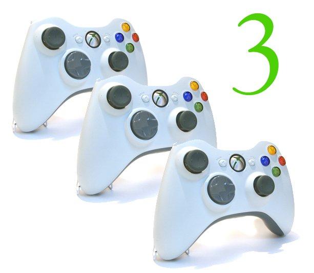 3 NEW ish XBOX 360 WIRELESS