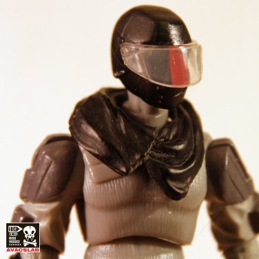 Neck Shawl 1 (Black)