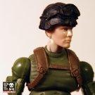 Frontline Helmet (Gogs/Black)
