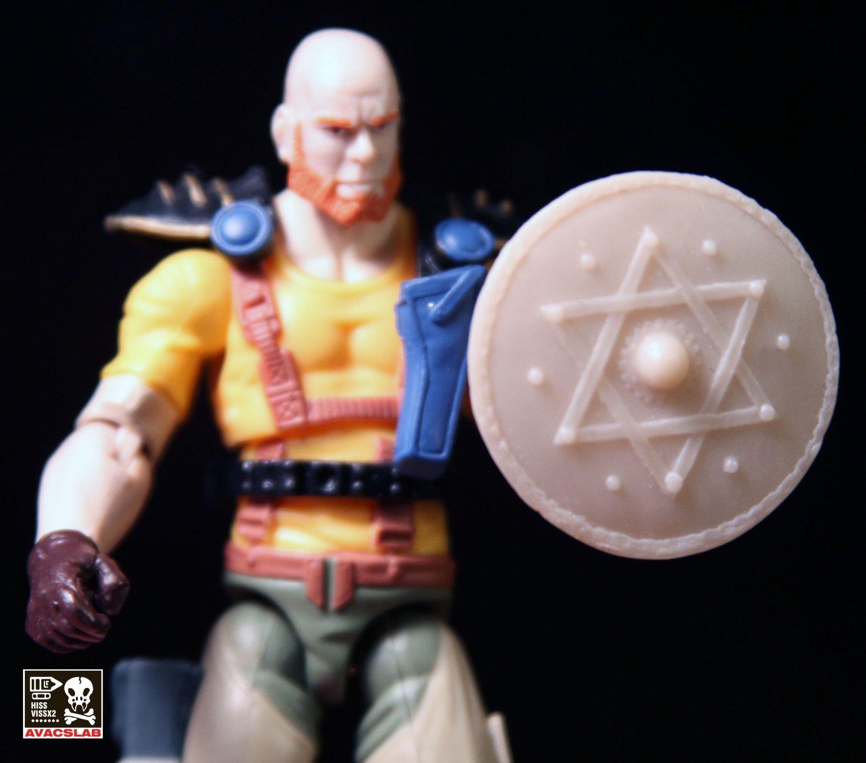 Star Of David Shield (Tan)