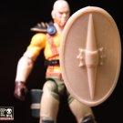 Medallion Shield (Tan)