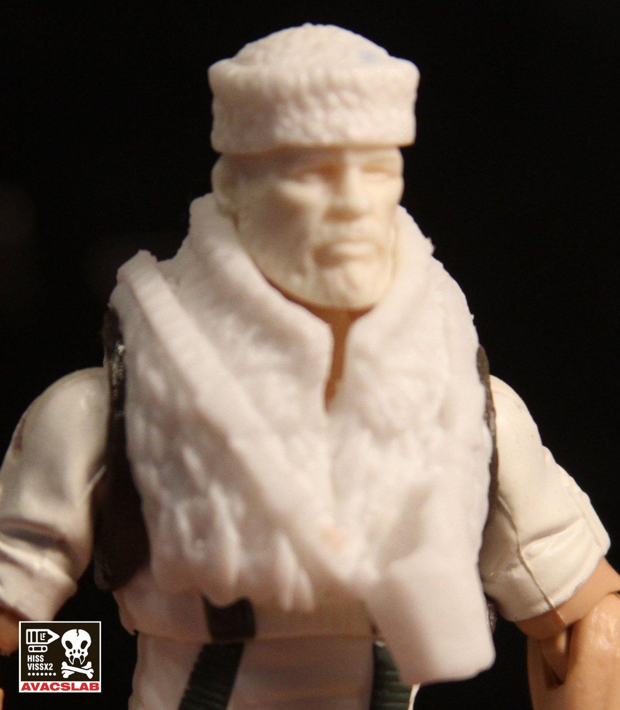 Frosty Kit  Vest in White or Tan