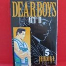 Dear Boys ACT II #5 Manga Japanese / YAGAMI Hiroki